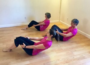 Weekly classes with Anne McCraine