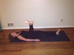 Maddie Leg Circles 3. Jan 2013