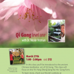 Qi Gong Workshop this weekend at Sellwood Yoga