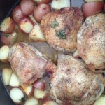Citrus Baked Chicken and Potatoes