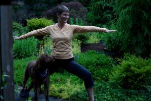 Anne doggie warrior