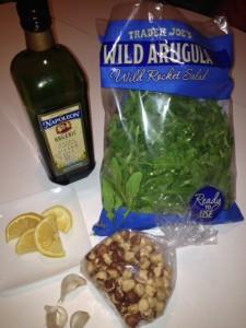 arugala salad March 2013