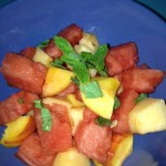 Maddie's Ginger Mint Fruit Salad