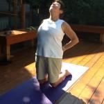 "Yoga ""Camel"" Pose – Back Strength And Flexibility"