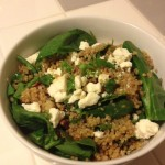 Citrus Quinoa Spinach Salad
