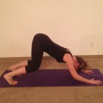 January Five Exercises – Downward Facing Dog – Adho Mukha Svanasana