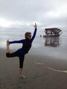Anne beach yoga
