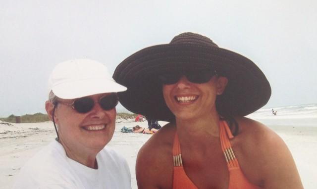 Anne mom beach 6.14
