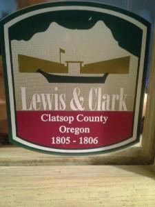 Lewis n Clark sign