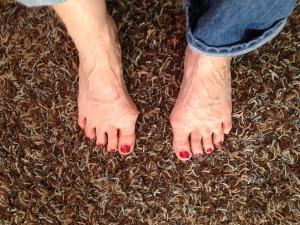 Susan feet 7.14