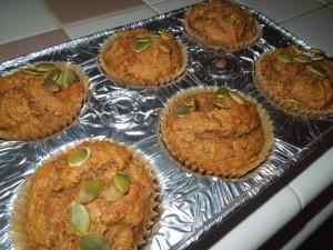 pumpkin muffins 11.15