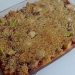 Gluten Free Apple, Cranberry, And Pecan Crisp