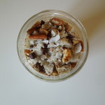 Pineapple Chocolate Coconut Overnight Oats Recipe