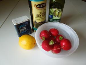 Roasted Radishes ingredients 1 3.16