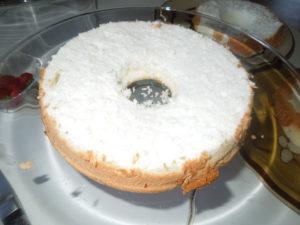 Baby Jonah cake layer one one 6.16