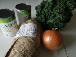 Sausage bean and kale soup 2.17