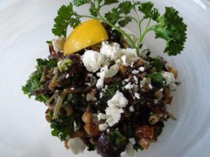 wild rice kale grape salad 3.17