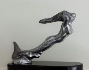 mermaid hood ornament