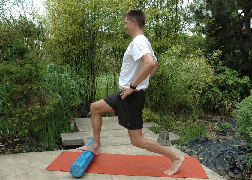 Foam roller exercises for strength, balance, chronic pain relief