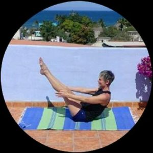 Boat Pose - core strength, hamsting flexibility, balance