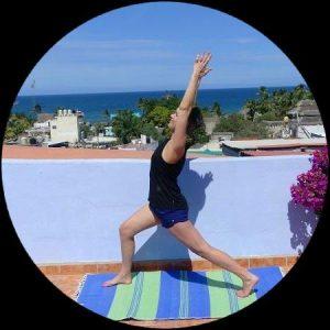 Crescent Lunge Yoga Standing Balance
