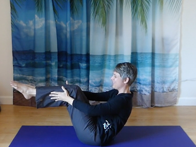 Pilates core strength, spine mobility, shoulder mobility