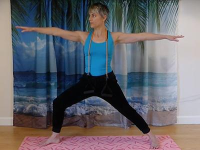 yoga standing balance, leg strength